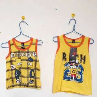 U price New Vest (All baby Clothes mini order 3 pieces)