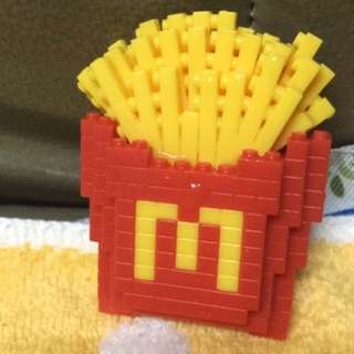 McDonald figure - fries