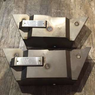 ARC titanium manifold cover / Heat shield for Evo 7 / 8 / 9