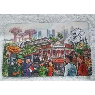 Singapore Art Design - Garden By The Bay, Merlion, MRT, Shophouses