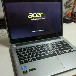 Acer i5 8gb Touch screen Display card