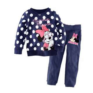 Minnie mouse pajams for age 1-6yrs old
