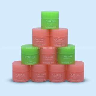 [Bnew] Carenel Lip Sleeping Mask 5g CARE:NEL Berry and Lime