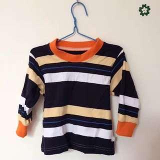 U price baby long Sleeve colorful T-shirt