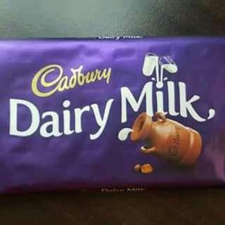 Cadbury Dairy Milk Plain