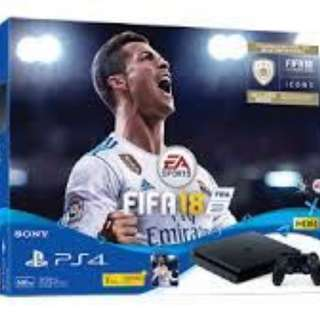 *Don't Miss!* Playstation4 Fifa18 Bundle 500GB Slim