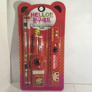Korean Stationery Set