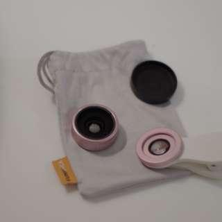 🚚 Funica手機鏡頭 超廣角/微距雙鏡頭