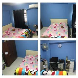 Rent Common room for couple/ female walk 5 mins to Admiralty MRT