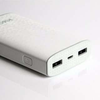 Vivan Robot RT7100 6600mAh 2 USB Ports Power Bank White