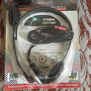 Touchmate Headset with Microphone