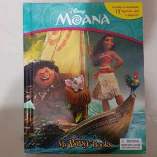 Moana Busy Book