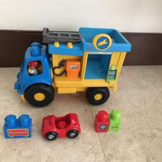 Mega Block Maintenance Truck