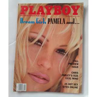 Playboy Magazine Pamela Anderson - September 1997