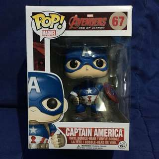 Funko Pop Avengers Age of Ultron #67 Captain America