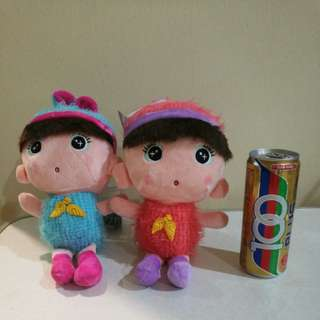 Twin babe toy