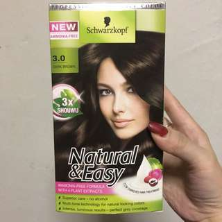 Schwarzkopf natural and easy hair Color dye