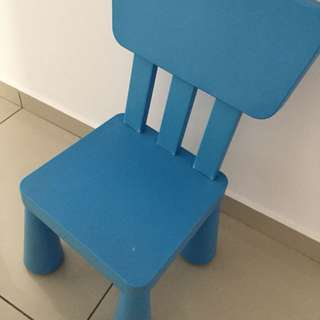 Preloved Ikea Mammut kids chair