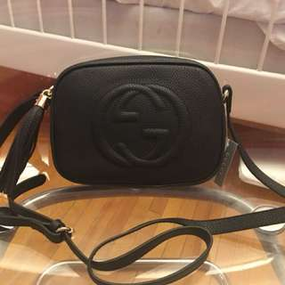 Gucci GG soho Disco Bag - Black
