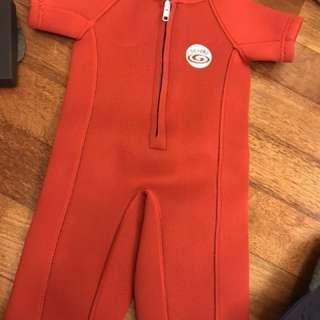 Ogival swim suit