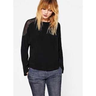 New! Esprit EDC Comfort Lace Long-Sleeves Shirt 女裝長袖上衣 Size S (EU 36) 👱🏼♀️👩🏼