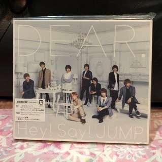"Hey! Say! JUMP ""DEAR"" Limited edition type 1"