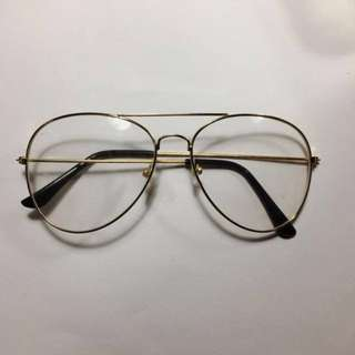 [WTS] gold fake circle/round glasses
