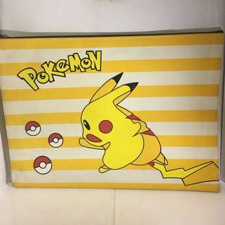 Pikachu Pencil Case Bag Folder Notes