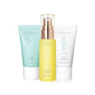 3 Step System Oily Combination Skin , Kora Organics by Miranda Kerr - 3 Pieces