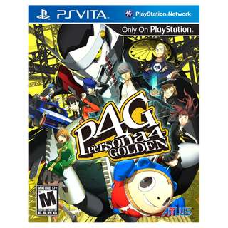 PS Vita Persona 4 Golden