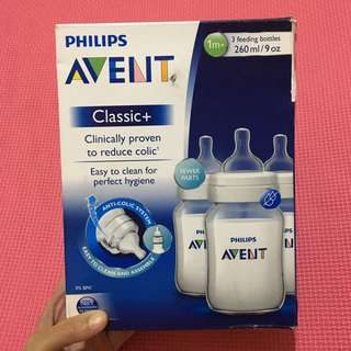 Philips Avent - 3 Classic Bottles 9oz