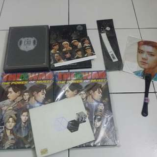[CLEARANCE] EXO GOODS TO LET GO.