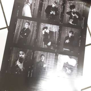 EXO LOTTO OFFICIAL POSTER ONLY