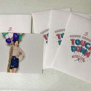 Twice Debut Showcase Touchdown postcards