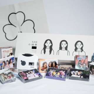 S.H.E 小時帶 16th Anniversary Cassette Collection (Imported from Taiwan)