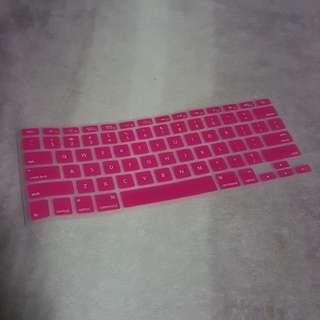 Macbook Hot Pink Keyboard Protector 💕