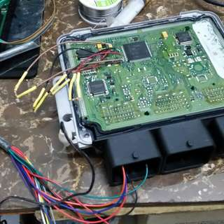 Repair ECU BSI for PSA Citroen and Peugeot.