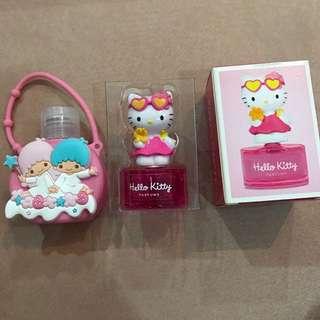 Little Twin Stars Hand Sanitiser / Hello Kitty Eau de Toilette
