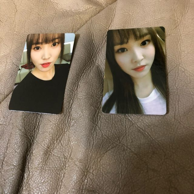[$28 For 2!] Photocards of Yuju of Gfriend