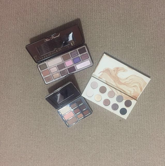 3 Authentic Eyeshadow Pallettes