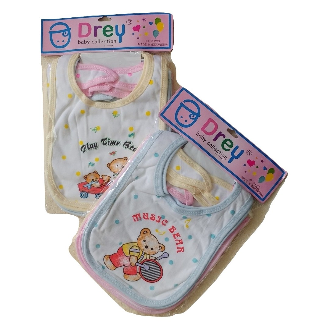 6PCS CELEMEK DREY BABY BAYI MIX COLOUR