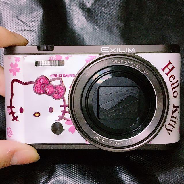9.5成新 16g Casio 卡西歐 美顏 Zr3500 白色 相機