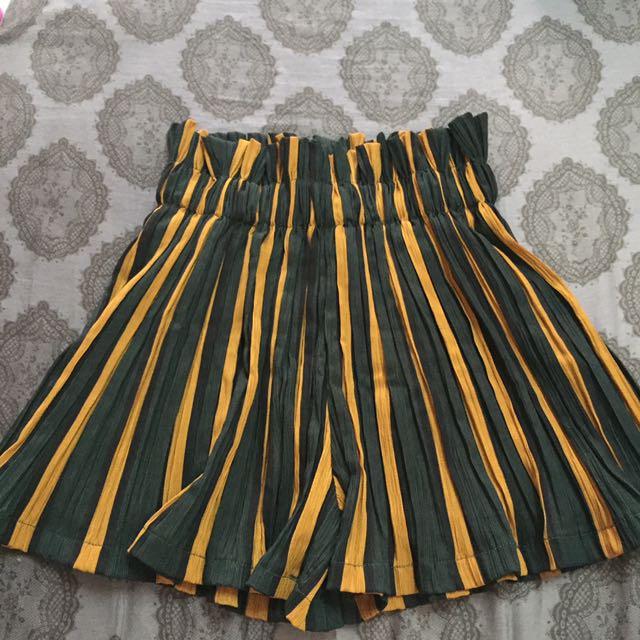 全新褲裙,鬆緊腰