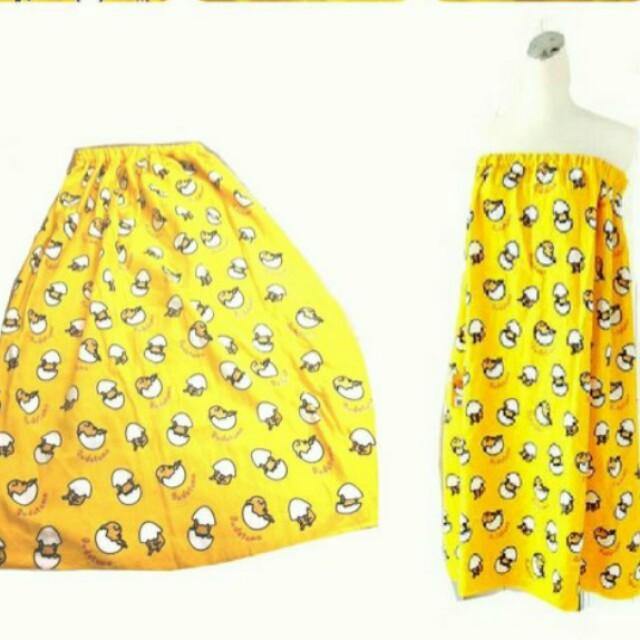 蛋黃哥滿版浴裙