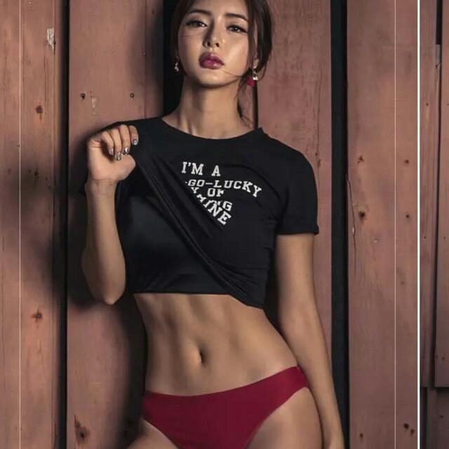現貨韓系超美顯瘦三件套裝泳衣比基尼