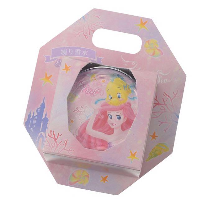 迪士尼公主小美人魚芬香膏