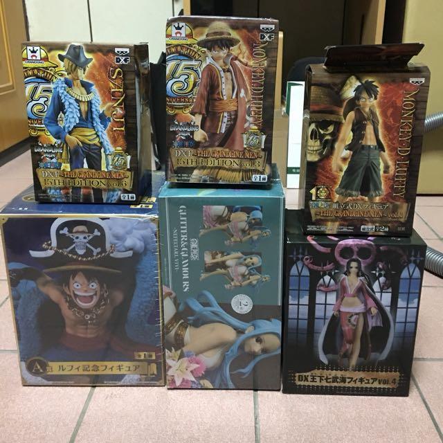 海賊王公仔 全部一起賣