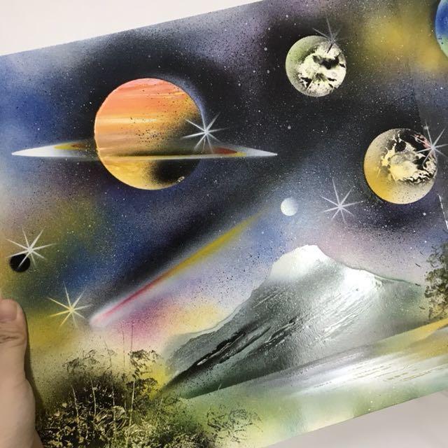 保存很好 一張宇宙圖