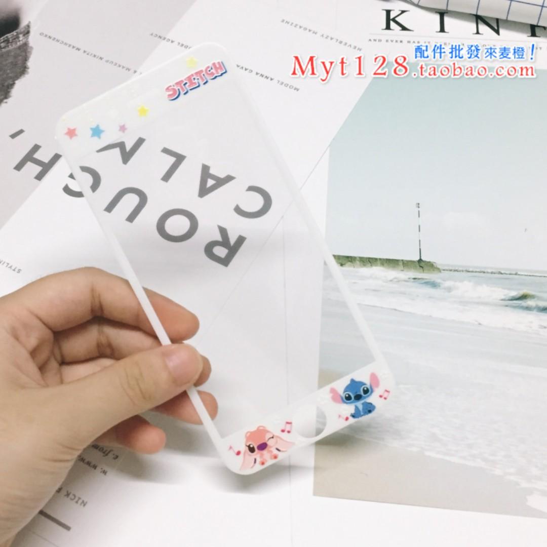 現貨+預購🏩可愛史迪奇 鋼化玻璃膜 螢幕保護貼