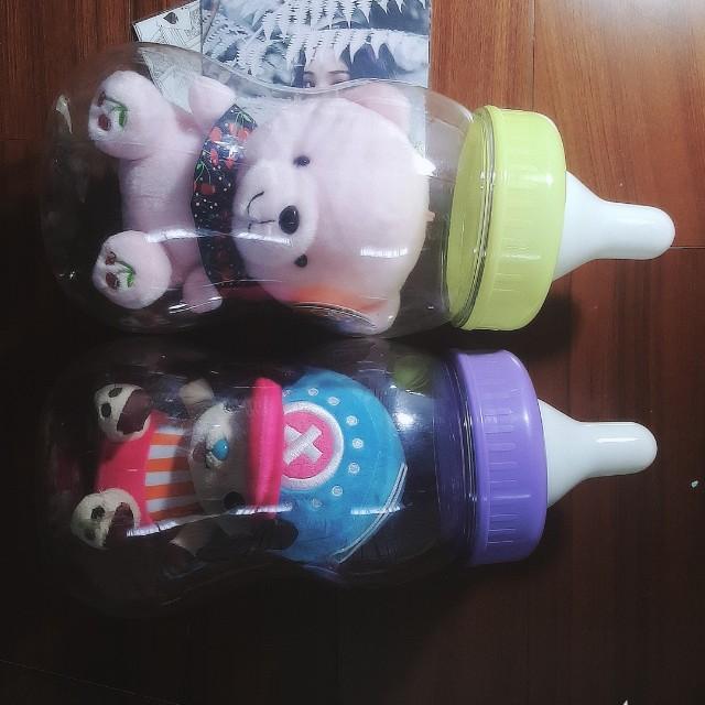 小熊 航海王 喬巴 娃娃